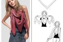 Ways to Style a Square Scarf / We give you ideas on how to style your gorgeous silk scarf. We promise you will never find a more versatile article of clothing, and we will help you wear it every way possible, every day if you choose to!