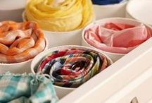 Creative Ways to Store Scarves