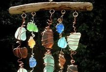 Sun catchers / wind chime/ rain chain