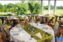 Hermitage Golf Course   Nashville Wedding Venue / Imagine an intimate wedding surrounded by the beautiful roses in the Celebration rose garden, with the gentle sound of flowing water from the stone waterfall. As guests make their way to your reception, the pavilion welcomes them with the open ceiling with tiny white lights and stone fireplace. Amazing panoramic views of two of Tennessee's most beautiful golf courses create a casual, yet elegant setting for your celebration. Contact them: (615) 847-4001