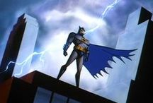 Batman (TV Series 1992–1995) - Title Sequence Storyboard / Drawn by Bruce Timm & Colored by Eric Radomski.