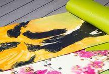 KESS Art Yoga Mats