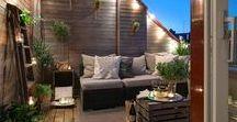 Balkon und Terrassen Ideen / Entdecke tolle Ideen für deinen Balkon oder deine Terrasse und verwandel diesen Ort in deine Wohlfühloase