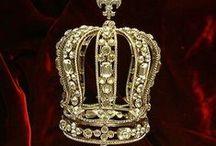 Królewskie sny - royal dreams / korony, królewny, budowle,stroje , suknie