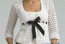 Жакеты - крючок / вязание крючком | crochet | jackets | blouses
