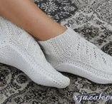 Носки и тапочки / вязание крючком   crochet   socks   slippers   shoes