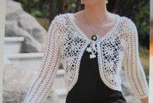 Болеро - крючок / вязание крючком | bolero | crochet