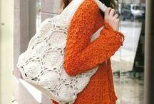 Сумки / вязание крючком   crochet   bags