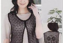Жилеты - крючок / вязание крючком   crochet   waistcoats   tunics