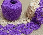 Ленточное кружево / вязание крючком | crochet | tape lace