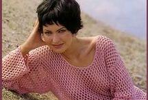 Пуловеры - крючок / вязание крючком   crochet   pullovers
