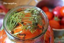 Заготовки на зиму / домашнее консервирование   овощи на зиму