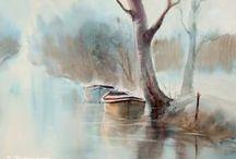 \\ WATERCOLOR ART. //