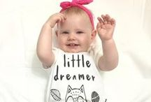Girls Baby Clothes / Baby clothes for girls | Australian organic baby clothing brand creating unique & stylish outfits for babies & toddlers. Affordable, soft & Safe Baby Clothing | ♥ asterandoak.com.au