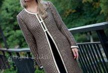 Платья и пальто - спицы