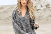 Пуловеры - спицы