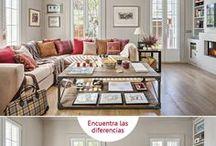 Encuentra las diferencias / ¿Crees poder encontrar las diferencias?