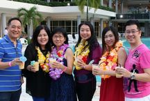Aloha Year End Party 2015 / [SPGG Event: 19 Dec 15] SPGG Member Year End Party with Hawaiian theme by the poolside at SPGG.