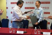 SP & SPGG IoT MOU Signing Ceremony [SMART CLUB] / (SPGG News - 31 Oct 2016): Today's event marked a significant milestone in the SP-SPGG journey of collaboration, and a testament to our close bilateral co-operation and relationship.  We signed a Memorandum of Understanding (MOU) for a collaboration with Singapore Polytechnic to jointly collaborate on the adoption of Smart and Green Technologies towards the development of SPGG into a SMART Clubhouse.  We will continue to intensify our efforts in creating new capabilities to reach our vision.