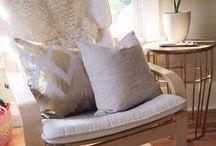 Upcycling IKEA Poeng Sessel