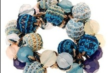 Hair Accessories / Give your hair a captivating finish with these stunning hand beaded hair ties or simply wear them around your wrist as a pretty bracelet!  They are made with non-damaging elastic bands, making them ideal for a variety of hair types.  Please see more at http://www.indigobluetrading.com