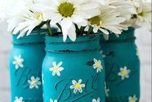 mason jars / by Nancy Neal