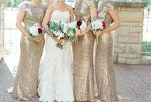 Beautiful Bridesmaids / We love our bridesmaids, and we take special care of them throughout a bride's planning process. From gown styling to bridesmaids gifts, we've got it covered!