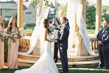 I Do / Our favorite part of a wedding? The vows! So special and worth all of our hard work.
