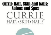The Currie Salons! / Currie Hair Skin Nails has a simple philosophy; we deliver an exceptional experience to our guests through education, outstanding amenities, and a desire to be the best.