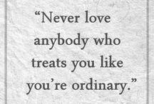 Quotes & Maxims