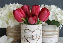 O Encanto das Flores na Decoração / Separei algumas sugestões de decoração de eventos com flores. Espero que gostem =D Observação: Todas as imagens foram compartilhas no próprio Pinterest.