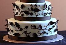 Bolo Decorado: Casamento / Separei belos bolos de casamento, para servir de inspiração para vocês. Espero que gostem =D Observação: Todas as imagens foram compartilhas no próprio Pinterest.