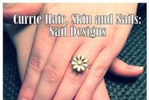 Nail Designs and Art! / Nail designs and art created by the artists of Currie Hair, Skin and Nails. www.curriedayspa.com