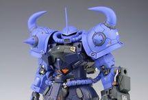 Gundam/mecha modeling