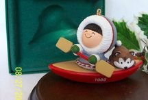 Hallmark Christmas Ornaments / As a child, one of my Christmas presents was 2 Hallmark Christmas ornaments each year.  I still collect them and passed that tradition.