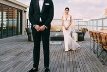 First Look / Some brides opt to give their groom a first look! It can be a great way to calm those pre-wedding jitters.