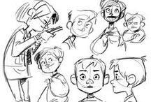 Character Design / Illustration / Character design and illustration.