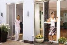 Anjeos - Mallas Mosquiteras / Sistema de proteccion para puertas y ventanas con Anjeos o Mallas Mosquiteras en fibra de vidrio con marco de aluminio
