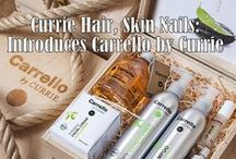 Carrello by Currie / All-natural organic beauty products created in Italy for your hair and skin: Carello by Currie!