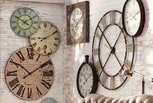clocks / clock decor