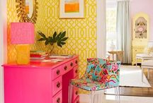 Vibrant and Risky Interiors
