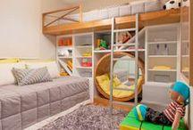 Quarto Decorado: Sonho Infantil / Separei algumas inspirações de decoração de quarto infqantil. Espero que gostem =D Observação: Todas as imagens foram compartilhas no próprio Pinterest.