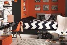 Quarto Decorado: Menino Adolescente / Separei algumas inspirações de decoração de quarto de menino adolescente. Espero que gostem =D Observação: Todas as imagens foram compartilhas no próprio Pinterest.