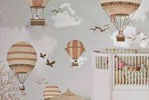 Quarto Decorado: Bebê / Separei algumas inspirações de decoração de quarto de bebê. Espero que gostem =D Observação: Todas as imagens foram compartilhas no próprio Pinterest.
