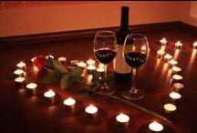 Decoração Romântica / Separei algumas sugestões de decoração romântica, como fonte de inspiração para vocês. Espero que gostem =D Observação: Todas as imagens foram compartilhas no próprio Pinterest.