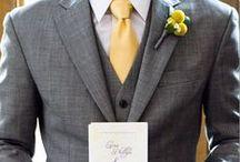 Noivo: Elegante e Estiloso / Separei algumas sugestões de trajes para noivo. Espero que gostem =D Observação: Todas as imagens foram compartilhas no próprio Pinterest.