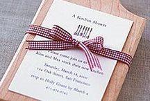 Chá de Panela: Convite / Separei alguns convites de chá de panela, para servir de inspiração para vocês. Espero que gostem =D Observação: Todas as imagens foram compartilhas no próprio Pinterest.