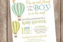 Convite: Chá de Bebê / Separei alguns convites fofos para chá de bebê, para servir de inspiração para vocês. Espero que gostem =D Observação: Todas as imagens foram compartilhas no próprio Pinterest.