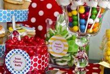 Aniversário Infantil: Detalhes / Separei algumas sugestões para deixar a decoração festa de aniversário infantil com um toque especial e diferente, atentando-me aos detalhes, como fonte de inspiração para vocês. Espero que gostem =D Observação: Todas as imagens foram compartilhas no próprio Pinterest.