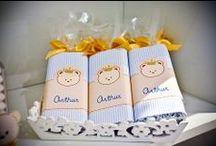 Chá de Bebê: Lembrancinhas / Separei algumas lembrancinhas de chá de bebê, para servir de inspiração para vocês. Espero que gostem =D Observação: Todas as imagens foram compartilhas no próprio Pinterest.